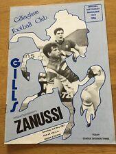 Gillingham v Wigan Athletic  2nd May 1987 Div 3