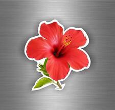 Autocollant sticker voiture moto biker macbook hibiscus plante arbre fleur r9