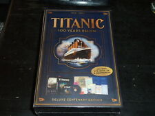 Titanic 100 Years Below DVD, 2012, 2-Disc Set, With Book; DVD/CD NEW in wrapper