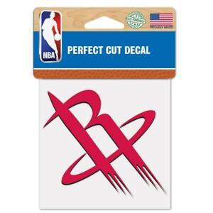 "Houston Rockets Perfect Cut 4""x4"" Color Decal [NEW] Auto Sticker Emblem"