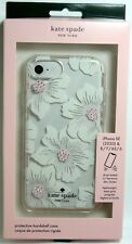Kate Spade Hardshell Case for iPhone SE 2020, 8/7, Clear/Floral, KSIPH-055-HHCCS