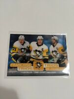19-20 Upper Deck NHL Franchise Trios Pittsburg Penguins Crosby / Malkin / Letang
