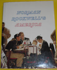 Norman Rockwell's America 1985 Abrams Christopher Finch Great Pictures! See!