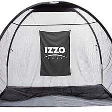 NEW Izzo Golf A43052 The GIANT Jr. Engineered and Tested Hitting Net - Black