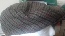 NEW Tom Franks Check Stylish Fashion Country Flat Cap Hat GL228A L/XL) 60cm.