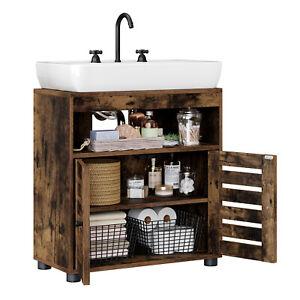 VASAGLE Meuble sous lavabo, Meuble de salle de bain Placard de rangement BBK04BX