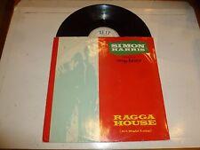 "SIMON HARRIS featuring DADDY FREDDY - Ragga House - UK 4-track 12"" vinyl single"