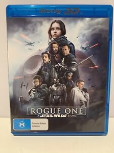 ROGUE ONE-  A STAR WARS STORY - 3D Blu-Ray DVD - 2016 - High Definition