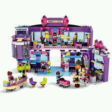 COGO 4511 Dream Girls Modern Shopping Mall Building Blocks Toy for Children