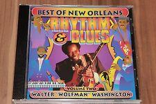 "Walter ""Wolfman"" Washington - Best Of New Orleans Rhythm & Blues Volume 2 (CD)"