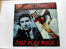 PROMO SINGLE SIDED BIG AUDIO DYNAMITE - JUST PLAY MUSIC! - CBS SPAIN 1988 VG+