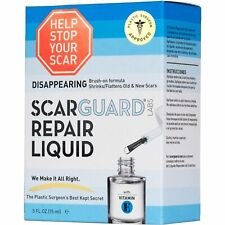 Scarguard Repair Liquid Invisible Brush-On Silicone Sheet 0.5 oz (Pack of 4)