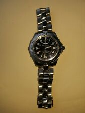 Authentic Breitling A74350 Colt Uni-sex All Stainless, Black Dial, 500M Series