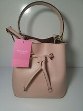 NWT! Kate Spade Eva Small Bucket Bag Rosycheeks
