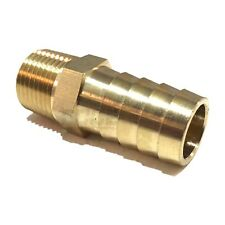 5/8 HOSE BARB X 3/8 MALE NPT Brass Pipe Fitting NPT Thread Gas Fuel Water Air