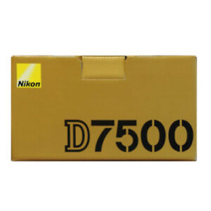 Nikon D7500 20.9MP Digital SLR Camera - Black (Body Only)