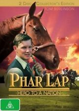 Phar Lap DVD AUSTRALIAN TOP 1000 MOVIE HORSE RACING CHAMPION 2-DISC BRAND NEW R4