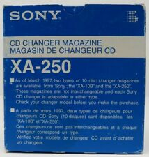Sony Xa-250 10 Disc Cd Changer Magazine Cartridge Cdx-705 715 727 737 747 757 +
