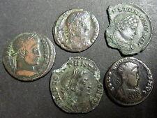 LOT DE 05 CENTENIONALIS ou NUMMUS - EMPEREUR CONSTANTIN I (306-337) - N° 1