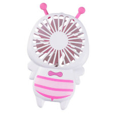 Rechargeable LED Fan Handheld Personal Fan Long Battery Standby Time_Pink
