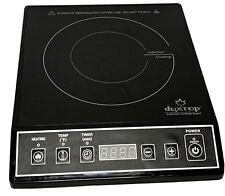 Duxtop 1800W Portable Induction Cooktop Countertop Burner Black 9100Mc Exc