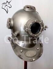 US Navy Vintage Divers Helmet Mark V Antique Diving Helmet