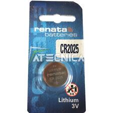 Pila al litio CR2025 3V Renata batteria piatta a bottone CR 2025