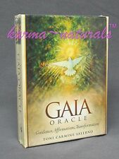 GAIA Oracle Card Deck - by Salerno - NEW Earth Guidance Divination Energy