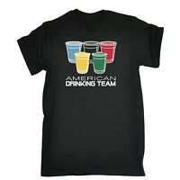 American Drinking Team USA United States Party Sport T-SHIRT tee funny birthday
