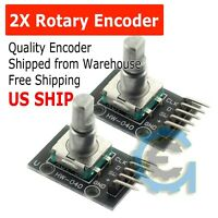 2Pcs KY-040 Rotary Encoder Module for Arduino AVR PIC Board Hot