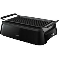 Philips Avance Collection Smokeless Indoor Electric Grill Black  HD6371/94