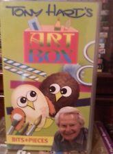 Tony Hart's Art Box.Bits and Pieces VHS video.
