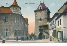 AK aus Saaz, Beim Priesterthof, Tschechoslowakei  (F7)