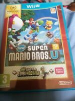 New Super Mario Bros. U+ New Super Luigi U -Nintendo Wii U, 2013 Age 3 With Case