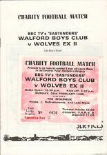 More details for bbc tv eastenders  walford boys club v wolves ex ii. signed 1988 e1.978
