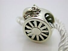.925 STERLING SILVER HAMPSTER WAGON WHEEL EXERCISE CHARM NEW WITH TAGS #16