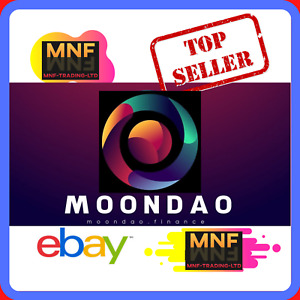 100 MILLION MOONDAO (MNDAO) CRYPTO CURRENCY - CHEAPEST SELLER - INSTANT DELIVERY