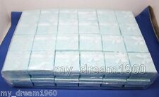 Wholesale 48pcs blue color jewelry gift box ring earring Box
