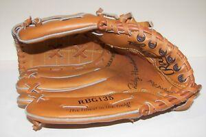 "Vintage RICKEY HENDERSON Rawlings Model RBG135 Youth 10.5"" LH Baseball Glove"