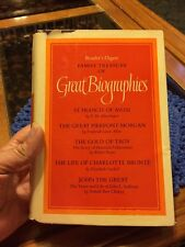 Family Treasury Of Great Biographies by Reader's Digest (1971, Vol. 8, HC / DJ)