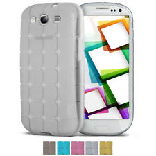 Carcasa de silicona para Samsung Galaxy s3 funda protectora transparente fina TPU back cover