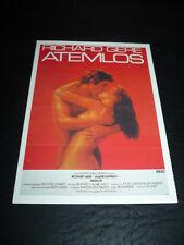 BREATHLESS, film card (Richard Gere, Valerie Kaprisky)
