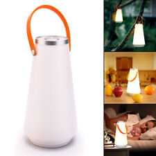 LED Portable Hiking Camping Tent Lantern Night Light USB Rechargeable Dimmable