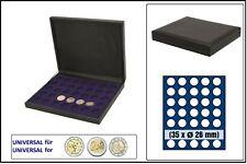 Safe 63260 nova de Luxe Tirelire Noir 35 cases 26mm Pour Monnaie