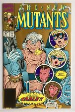 New Mutants #87 2nd Print Gold Variant 1st Cable Marvel VF+ 8.5 Deadpool Movie