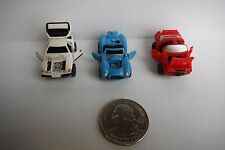 "Micro Machines DELUXE 3 ""FULL SET"" Galoob Lot 1989 GREAT CONDITION"