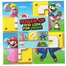 MCDONALDS 2017 PICCOLI SUPER MARIO POP-OUT Puzzle Gioco/Flyer