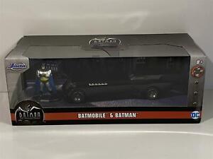 Batman Animated Batmobile with Figure 1:32 Scale Jada 31705