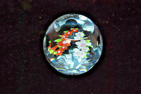 Amethyst Bouquet Caithness Scotland 6/150 Glass Paperweight Signed  S5225