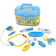 Boy Girl Child Doctor Medical Play Set Kit Nurse Role Pretend Preschool Play Toy